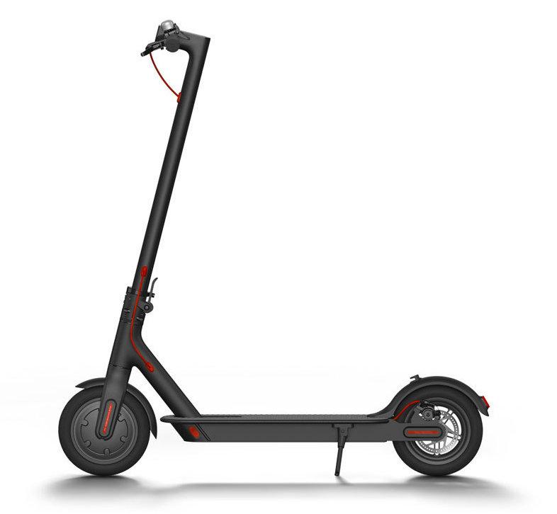 Электрический самокат Xiaomi MiJia Electric Scooter черный